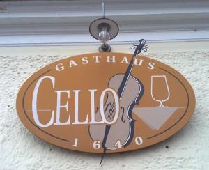 Gasthaus Cello Logo