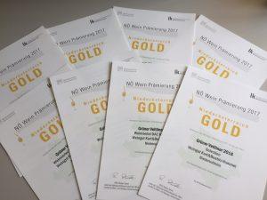 8x NÖ-Gold
